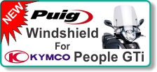 PUIG Windshield for Kymco People GTi